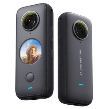 送128G+隱形自拍桿+子彈時間繩盒+鏡頭保護套~ Insta360 One X2 全景 360度 運動相機 攝影機(ONEX2 公司貨)