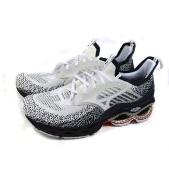 Mizuno WAVE CREATION 22 WAVEKNIT 美津濃 針織 運動鞋 白/藍 男鞋 J1GC213301 no123