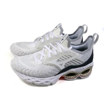美津濃 Mizuno WAVE CREATION 22 WAVEKNIT 慢跑鞋 運動鞋 白色 女鞋 J1GD213301 no124