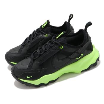 Nike 休閒鞋 TC 7900 運動 女鞋 厚底 舒適 簡約 球鞋 穿搭 反光 黑 綠 DD9681001 [ACS 跨運動]