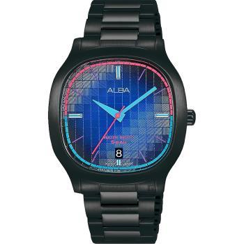 ALBA 雅柏 復古電視機手錶 VJ42-X308SD(AS9L87X1)
