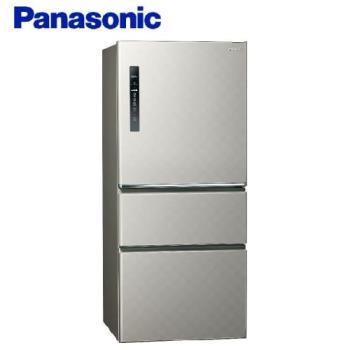 全新福利品 Panasonic國際牌 610L 一級能效 三門變頻電冰箱(絲紋灰) NR-C610HV-L -庫(G)