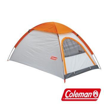 (美國 Coleman) GO! 2P TENT 日光浴2人登山帳篷 雙窗 透氣 防雨