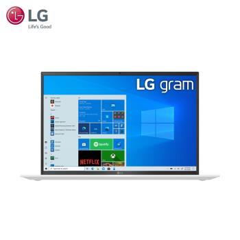 LG樂金 gram 17吋 極致輕薄筆電 冰雪白(17/i5-1135G7/16G/512G/W10H)17Z90P-G.AA54C2