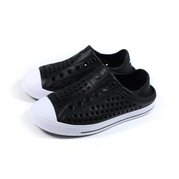 SKECHERS FOAMIES 洞洞鞋 懶人鞋 童鞋 黑色 91995LBLK no289