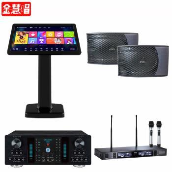 金慧唱 NOTE PLUS V2.0/21.5吋點歌面板4TB+DB-8A+TEV TR-9100+KS-9980PRO