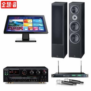金慧唱 NOTE PLUS V2.0/21.5吋點歌面板4TB+AK-7+ACT-869 PRO+Monitor Supreme 2002
