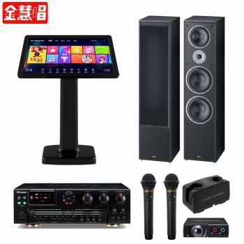 金慧唱 NOTE PLUS V2.0/21.5吋點歌面板4TB+AK-7+AT-CLM9000TX 771+Monitor Supreme 2002