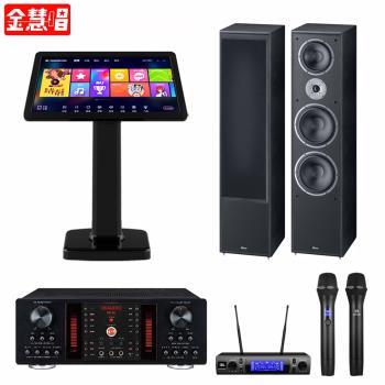 金慧唱 NOTE PLUS V2.0/21.5吋點歌面板4TB+DB-9A+JBL VM300+Monitor Supreme 2002