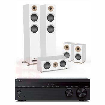 SONY 索尼 STR-DH790 7.2聲道擴大機+JAMO S807 HCS 五聲道喇叭 家庭劇院組