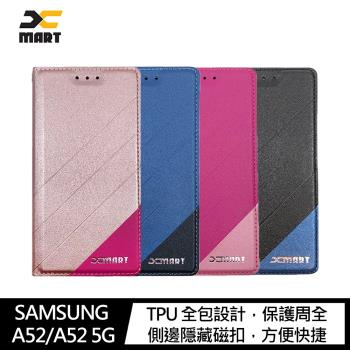 XMART SAMSUNG Galaxy A52/A52 5G 磨砂皮套(#手機殼 #保護殼 #皮套 #翻蓋)