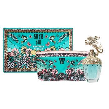 ANNA SUI 安娜蘇 童話美人魚淡香水 30ml 禮盒(淡香水30ml+愛情鳥化妝包)