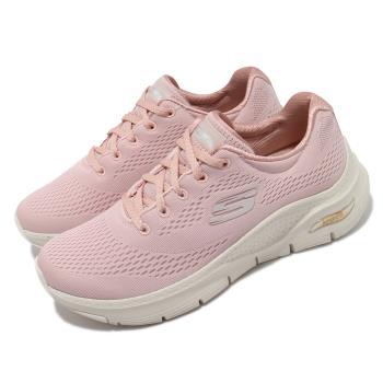 Skechers慢跑鞋ArchFit-BigAppeal女鞋專利鞋墊郊遊健走回彈避震舒壓粉米149057LTPK