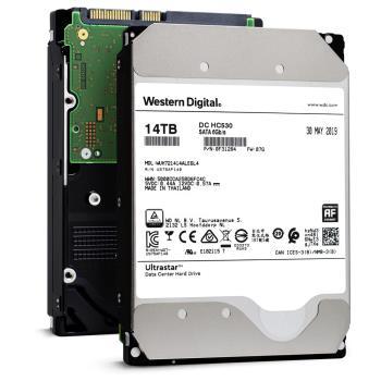 WD Ultrastar DC HC530 14TB 3.5吋企業級硬碟-WUH721414ALE6L4 0F31284 5年保固