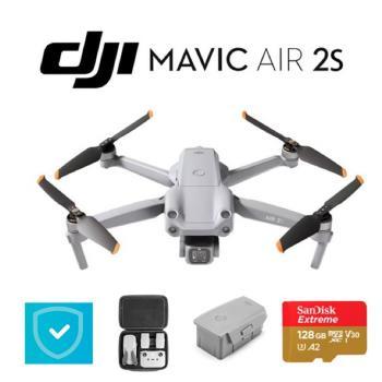 大疆 DJI Mavic Air2S 暢飛單機版+加購電池玩家+1年care保險組