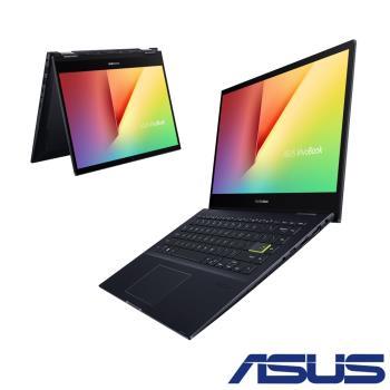 ASUS華碩 VivoBook Flip TM420UA-0032KR55500U 黑(14吋/R5-5500U/8G/512G SSD)