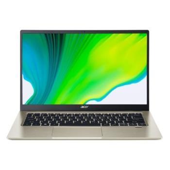 Acer宏碁 SF114-34-C3TN 輕薄筆電 14吋/N5100/8G/PCIe 256G SSD/W10 金