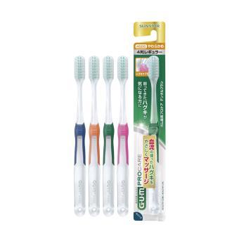 GUM牙周護理牙刷 (超彈力極細毛)一般頭-軟毛#688(顏色隨機)