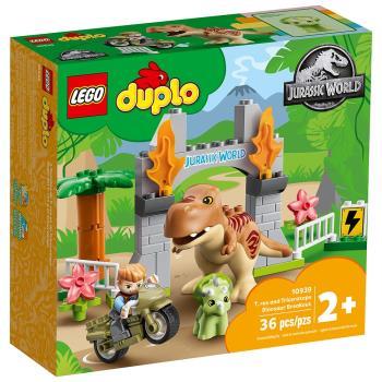 LEGO樂高積木 10939 202106 Duplo 得寶系列 - T. rex and Triceratops Dinosaur Breakout