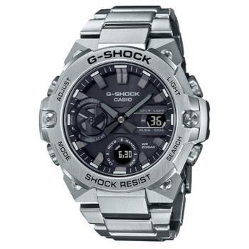 CASIO G-SHOCK 太陽能藍芽雙顯腕錶 GST-B400D-1A