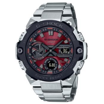 CASIO G-SHOCK 太陽能藍芽雙顯腕錶 GST-B400AD-1A4