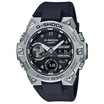 CASIO G-SHOCK 太陽能藍芽雙顯腕錶 GST-B400-1A