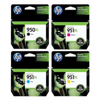 HP原廠 950XL+951XL 四色高容量墨水匣 適用HP 8100/Pro 8610/Pro 8620/Pro 8600