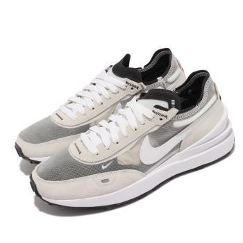 Nike 休閒鞋 Waffle One 運動 女鞋 基本款 舒適 小SACAI 麂皮 球鞋穿搭 灰白 DC2533-102 [ACS 跨運動]