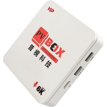 普視電視盒+語音遙控器 1G+16G (標配 HDMI線、電源組)  PVBOX