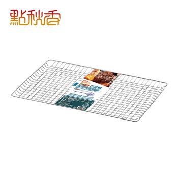 【點秋香】正304不鏽鋼食材防落烤網 30x48cm