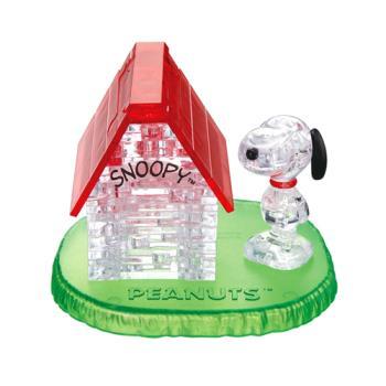 《3D 立體水晶拼圖》史努比與狗屋