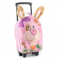 德國 okiedog 兒童3D動物造型系列-拉桿式行李箱(兔子)