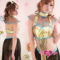 【天使霓裳】 豔麗動人 埃及女神 角色服 六件式-AW8180