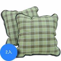 范登伯格     可樂弗紙纖抱枕方型抱枕2入組-50x50cm