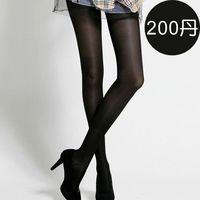 足下物語 200丹輕盈美腿襪S-XL(黑)