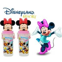 【迪士尼家族】立體造型吸口水壺650mlx2入/米妮x2