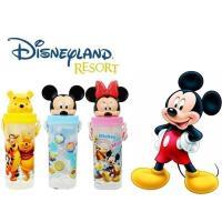 【迪士尼家族】立體造型吸口水壺650mlx2入/米妮+維尼