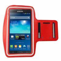 手機專用運動臂套(三星/小米/HTC/SONY 5.7吋以下手機通用)_紅