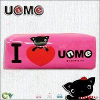 任-UnMe愛心花漾筆袋/桃粉紅