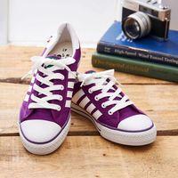 中國強 MIT 經典休閒帆布鞋CH89(紫色)