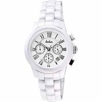 Diadem 黛亞登羅馬三眼計時陶瓷腕錶-白2D1407-521S-W