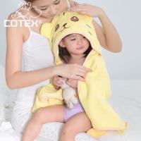 【COTEX可愛動物大浴巾】泰可虎(鵝黃色)