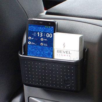 【YAC】軟質多功能手機置物盒-L (PZ-624/車用/汽車/收納/置物/手機架)