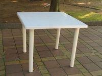 Brother Club~兄弟牌歐式風情~白色塑膠方桌(91cm)~物美價廉~居家庭院休閒必備!!