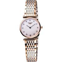 LONGINES 嘉嵐系列璀燦真鑽腕錶 L42091977