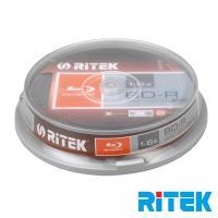 錸德 Ritek 藍光 Blu-ray X版 BD-R 6X 25GB 布丁桶裝(10片)