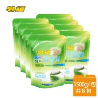 皂福無香精天然酵素肥皂精補充包1500gx8包