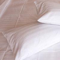 【法式寢飾花季】優雅生活-五星級飯店御用寬直紋枕套4入組