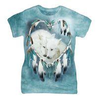 摩達客(預購)The Mountain 狼之心 短袖女長版T恤精梳棉環保染