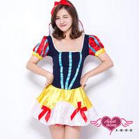 天使霓裳 蘋果誘惑 童話故事 角色扮演服(藍F)-KY6652